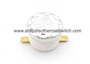 China High Accuracy Snap Disc Thermostat Switch 50 / 60 Hz Frequency KSD301 on sale