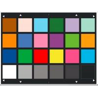 Reflective Type Picture Resolution Chart YE0188 Color Photography Graphic Artscolors