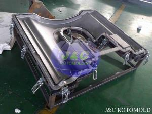 China High Precision Playground Slide Exit Rotational Mold For Plastic Rotary Molding on sale