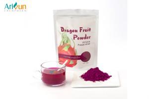 China Freeze Dried Fruit Powder Natural Pitaya lyophilized powder Colorful Purple colors on sale