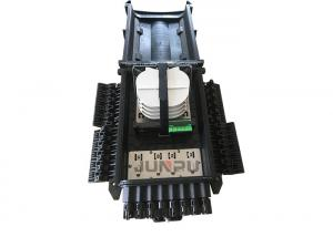 China Outdoor 96 Core Fiber Optic Splice Closure , 2 In 24 Out Fiber Optic Joint Enclosure on sale