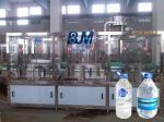 Linear Type Water Refilling Equipment / Plastic Screw Cap Bottled Water Machines