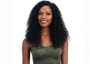 China Healthy Remi Human Hair Lace Front Wigs / Soft Human Hair Curly Lace Front Wigs on sale