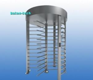China 120 Degree Rotation Full Height Turnstile Gate With RFID Reader Coin Acceptor supplier