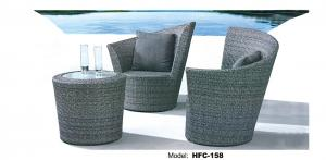 China High qulity Outdoor rattan wicker chair and Outdoor Table supplier