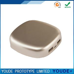 China CNC Machine Tools , CNC Machining Services Rapid Prototyping Platic Case Golden Painting on sale