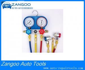 China Automotive Diagnostic A/C R134a Manifold Gauge Set / Freon Meter on sale