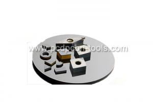 China ISO9001 Listed Round Cutting Disc PCD Blanks For Milling / Turning / Drilling on sale