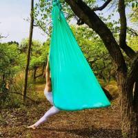 wholesale yoga hammock swing  aerial yoga swing amazon 5*2.8m or customized