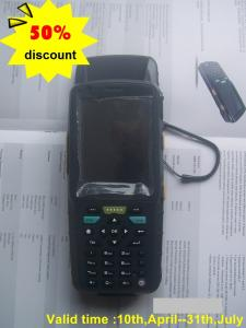 China 50% Discount 3.5inch PDA Handheld Wifi Bluetooth GPS UHF Rfid Reader Writer on sale