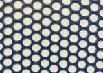 China CNC Round Metal Mesh , Decorative Perforated Sheet Plain Weave Weave Style wholesale