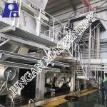 Complete toilet tissue paper production line