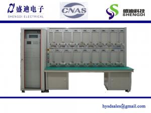 China Three phase meter test station, 24 position complete system 0.05% accuracy class Supply voltage- 3x220/380 (+/-10%) on sale