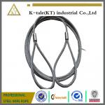 7*19 6.0mm Pressed Galvanized Steel Wire Rope Sling