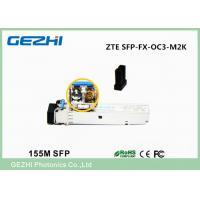 ZTE SFP Transceiver SFP-FX-OC3-M2K 155M Base OC-3c/STM-1 SR LC 2 Km 1310 Nm