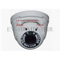 Indoor POE IP Security Cameras Wireless , Dome Street Security Camera 20Mtr IR Distance