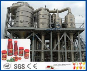 China 380V 15 T/H Tomato Processing Line Drum Package 12 Months Warranty on sale