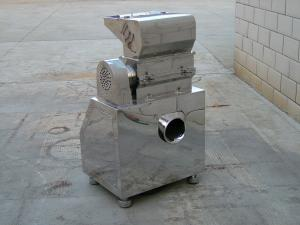 China Stainless Steel Dust Pulverizer Machine With 20-120 Crush Size For Foodstuff on sale