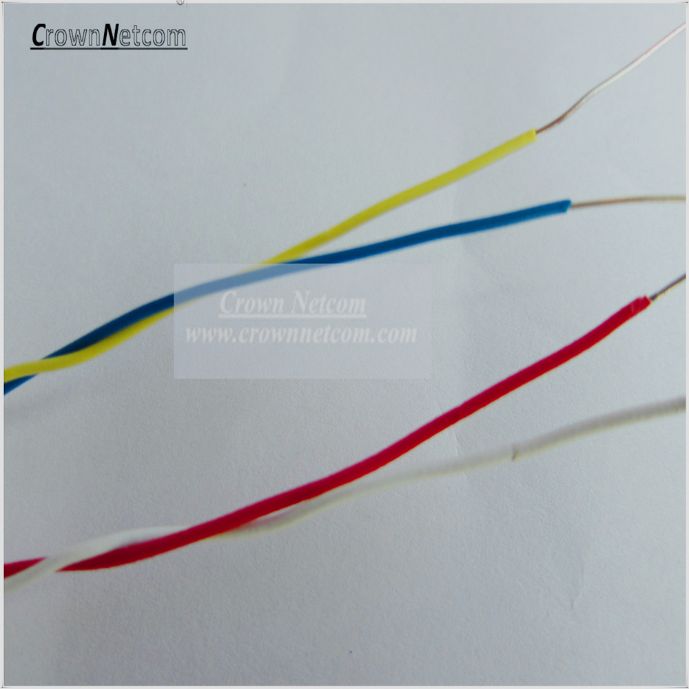 Telephone Jumper Cable 0.5mm PVC Jacket Blue/Yellow Red/White Bare ...