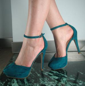 China customized Stiletto cocktail dresses sandal heels ankle strappy shoes for evening wear on sale