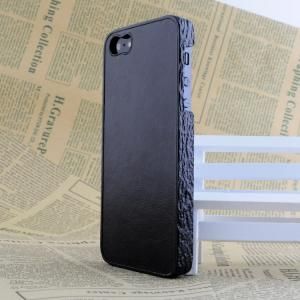 China 2014 Leather  Wood Grain Cell Phone Protection Case for iPhone 5S on sale