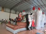 Inflatable knight themed bouncy house inflatable castle bouncer PVC material inflatable cheap price castle jumping