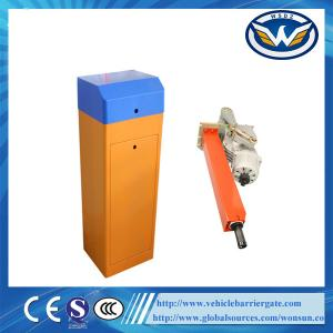 China Automated Parking Barrier Gate / Traffic Boom Barrier Gate 1m To 6m Arm Length on sale