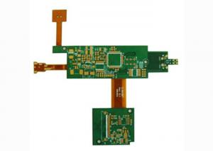 China Silkscreen 6 Layer Rigid Flexible PCB Printed Circuit Board Manufacturers with IC / PADs on sale