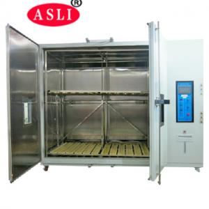 China Pharmaceutical Stability Testing Laboratory Equipment Walk - In Temp Humidity Chamber on sale