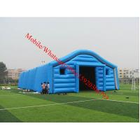 Blue Color Inflatable Tent / Inflatable Warehouse Tent for Storage