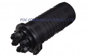 China Erect Type 6 Ports fiber optic splice closures 144Core Bunchy Fan Out on sale