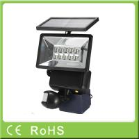 China High quality security with pir solar powered motion sensor light on sale