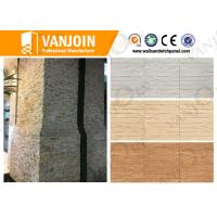 China 3d Green Ceramic Wood Tile , Ceramic Wall Tiles For Prefabricated House on sale