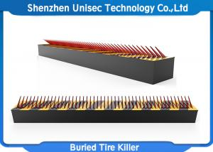 China A3 Steel Material Spiked Road Barrier Customized Length With 80T Max Loading Weight on sale