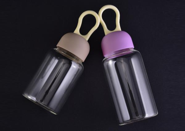 8ed18d5d8e 250Ml FDA Passed Borosilicate Glass Tableware , clear glass water bottles  with Images