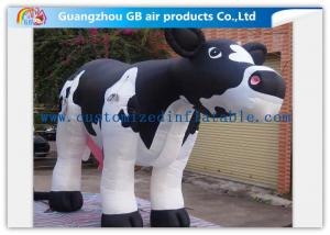 China Advertising Large Inflatable Cow / Giant Inflatable Cow Model For Factory Decoration on sale