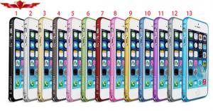 China 100% Test And Verify Aluminum Bumper For Iphone 5 5S High Quality Gift Box Included on sale