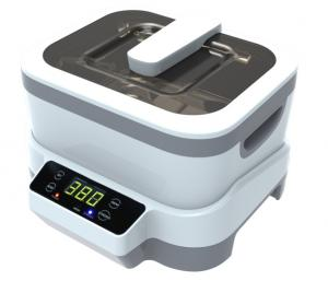 China Detachable Household Ultrasonic Cleaning Machine Digital Timer 1200ml 40KHz Frequency on sale