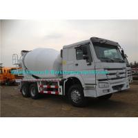 Whilte Truck Mounted Cement Mixer Machine Concrete Mixer Vehicle Eaton Motor