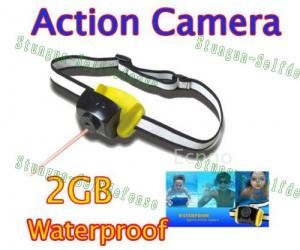 Quality 2MP CMOS 2GB helmet belt Waterproof Sports Action Camera T-30  for sale