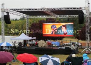 China Pixels 6mm Outdoor Digital Led Screens , SMD Outdoor Led Advertising Video Display on sale
