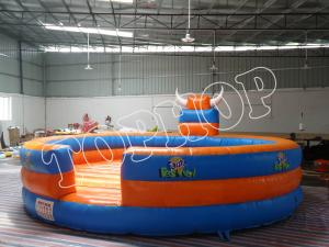 China Rental Fanta Inflatable Sports Games With Blue And Orange Color For Adults Kids on sale