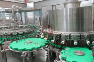 China Glass Bottle Sauce Filling Machine With Fruit Pulp Processing Equipment on sale