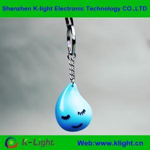 China Lovely water drop mini speaker keychain on sale