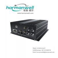 China 4CH HDD MDVR with GPS 3G WIFI Support Playback CMS MOBILE DVR panic button on sale