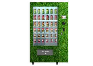 China Egg Vegetables Salad Belt Conveyor Combo Elevator Vending Machine Remote Controlled on sale