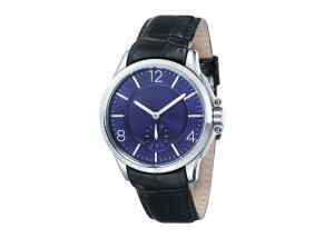 China Small Seconds High Precision Quartz Watch ,  Analog Time Quartz Watch Japan Movt on sale