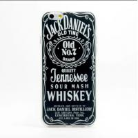 Whiskey Words Pattern Phone Covers Anti Scratch Case For 5.5inch Iphone 6