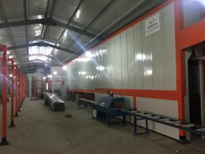 China powder coating line on sale