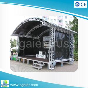 China Aluminum portable stage,outdoor concert stage,used stage for sale on sale